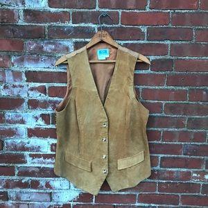 80's/90's Suede Vest